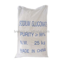 Industry grade chemical for construction sodium gluconate