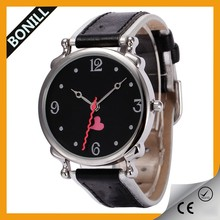 (  __  ) Alibaba top wholesale hot sale watches men Promotional gifts 2013 red heart QUARTZ watch