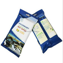 spunlace nonwoven clean wet wipe disposable cleaning cloth car seats