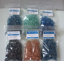 Coloured Crushed Glass
