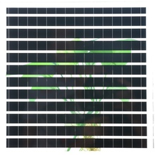 Hanergy solar energy products/carved translucent solar cell panel price