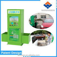 African money making manual car wash equipment with foam / wax / vacumme /led lighting box WCW-A10