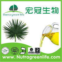 Competitive Price & Best Quality saw palmetto fruit extract / Fatty acids oil 90% /Saw Palmetto Extract