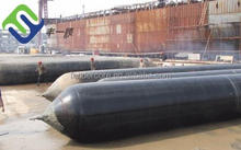 Heavy duty marine ruber airbag for ship launching and landing made in study factory