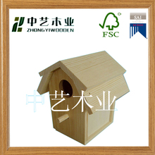 home and garden decoration antique wooden bird house on sale