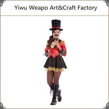 2015 venta caliente alta calidad carnaval niños circo disfraz