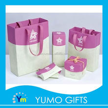 brand new designed different styles high quality packing gift bag for cosmetic gift