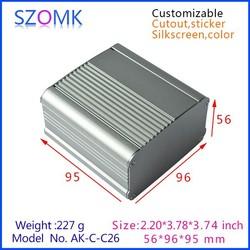 Split Body Project Box Case Aluminum enclosure for Electronic DIY 56*96*Free