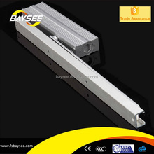 Concealed door closer packages for standard and heavy duty floor mounted