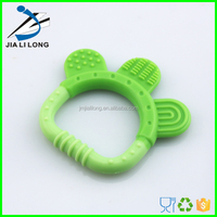 Baby funny teeth yoys silicone teething toy