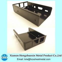 Black Enclosure For Electronics Sheet Metal Aluminum Enclosure