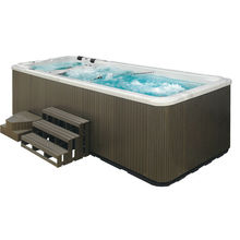 European fiberglass style hot sale swimming pool