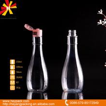 new shape PET 150ml plastic bottle