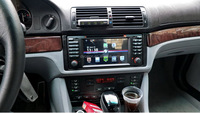 For BMW e39 capacitive android/2 din gps navigation for BMW X5 M5/E39 Car stereo dvd player