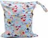 Ohbabyka waterproof mummy love two pockets cloth baby diaper bag