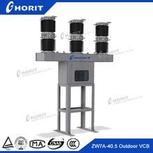 ISO9001 1250A 1600A 2000A 2500A Electrical 40.5KV 35KV Outdoor breaker 3 phase outdoor breaker 2000A High Voltage breaker