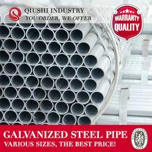 Q195/Q235 CS HOT DIP GALVANIZING STEEL TUBE TRADING COMPANY