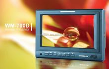 "Wondlan Movie Making Monitor 7"" HD LCD Monitor for Video Camera Steadycam Steadicam Stabilizer WM-700D HD-SDI"