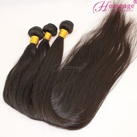 homeage tangle free sample accept hair bundles eurasian human hair extension