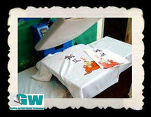 Hot Peel Inkjet Iron-on Heat Transfer Paper for Light Colored T-shirt