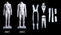 Hot sale remove parts ghost mannequin invisible mannequin