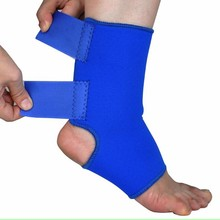Fashion New 1 Pair Adjustable Velcro Ankle Running Outdoor Riding Support Brace