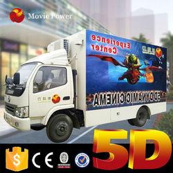 Most beautiful design mini 6d mobile kino 5d cinema with truck