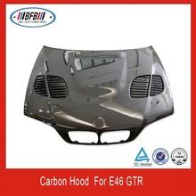 Carbon fiber engine hood /auto hood /carbon hood cover for e46 GTR