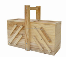 2015 china suppliers factory sale hot selling factory price FSC&SA8000 Wooden sewing box wholesale