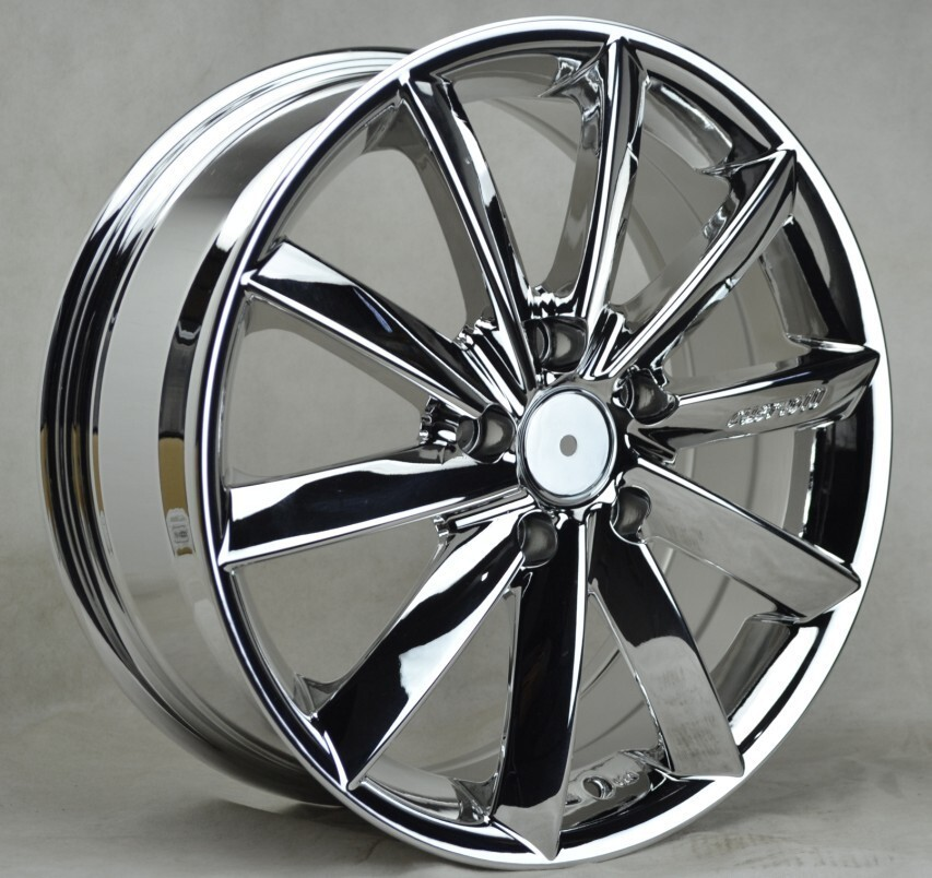 Chrome Car Rims Alloy Wheel 17 Inch Wheel Rim Buy Chrome