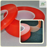 10mm X 50M Clear Strong Polyester Double Sided Production Line Adhesive Tapes