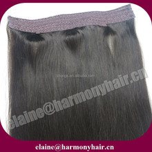 HARMONY flip in hair extensions/flipin human remy hair
