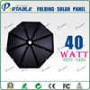 Newest design and fashionable 40W umbrella portable solar panel mounting