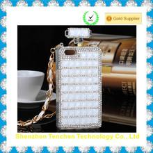 High quality handcraft Rhinestone Perfume bottles mobile phone cover