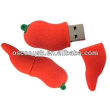 Wonderful pepper style usb flash drive, customed usb flash drive memory, full capacity usb flash drive pen