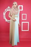 WS434 fashion design muslim women abaya long dress islamic clothing
