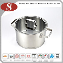 Durable turkey frying stainless steel fish pot