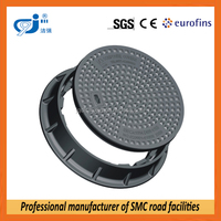 SMC anti theft manhole cover