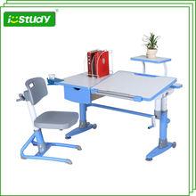 New design ergonomic children study desk supplier