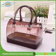 2015 Fashion Portable Transparent Pvc Cosmetic Clear Bag