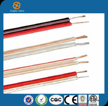 Made In China High Quality high speed 10 AWG Transparent Speaker Cable