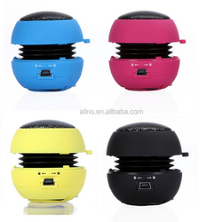 2015 new products hamburg amplifier wholesale protable wired professional mini speaker