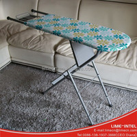Home multi purpose movable and folding ironing board ladder