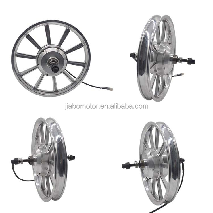 "JIABO JB-92/16"" open size 120mm 36v 300w brushless geared one wheel motor for ebike part"