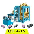 Fábrica de máquinas de fabricación de ladrillo venta QT4-15
