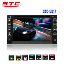 New 6.2 Inch 2 Din Touch Screen World Tech Car Audio System DVD Player With The Stereo And GPS Navigation