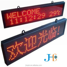 Poosled Competitiv waterproof Full color Video p10 m high brightness 10000 units outdoor full color plastic sign board