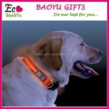 Wholesale Flashing LED Nylon Dog Collar Factory Directly