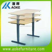 T feet office table leg height adjustable
