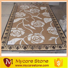 New Arrival medallion inlay pattern,marble medallion flooring